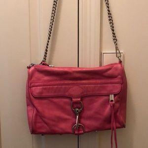 Pink Rebecca Minkoff shoulder bag - large